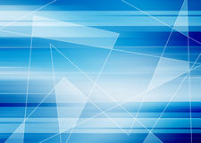 Blue Abstract Futuristic Background Royalty Free Stock Photo