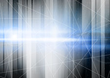 Blue Abstract Futuristic Background Stock Photography