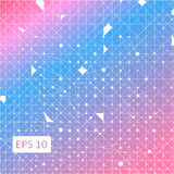 Blue abstract geometric background. Illustration royalty free illustration