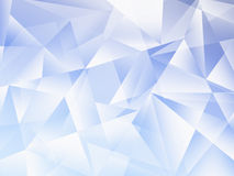 Blue Abstract geometric polygonal background. Composed of triangles Royalty Free Stock Photos