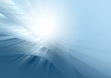 Blue abstract glowing background Royalty Free Stock Photo