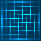 Blue abstract glowing background Royalty Free Stock Photography
