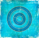 Blue abstract grunge image Royalty Free Stock Photos