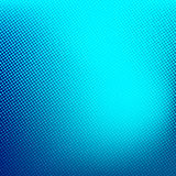 Blue abstract halftone background. Creative vector illustration Royalty Free Stock Photography