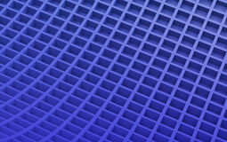 Blue abstract image of cubes background. 3d render Royalty Free Stock Photo