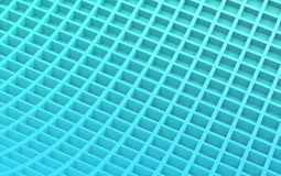 Blue abstract image of cubes background. 3d render. Ing stock illustration