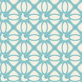 Blue abstract lattice. In seamless pattern Royalty Free Stock Photography