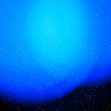 Blue abstract light background Stock Images