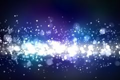 Blue abstract light background Stock Photos