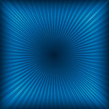 Blue abstract light rays Stock Photo