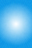 Blue abstract light rays Stock Images