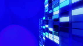 Blue abstract lights, motion backgrounds stock video