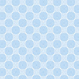 Blue Abstract Line Pattern on White, vector Stock Photography