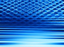 Blue abstract lined 3d illustration background royalty free stock image