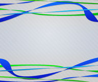 Blue Abstract Lines Background Royalty Free Stock Photo
