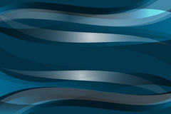 Blue abstract lines background Stock Photography