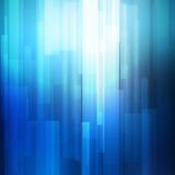 Blue abstract lines business vector background. Royalty Free Stock Image