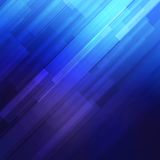 Blue abstract lines business vector background. Stock Images