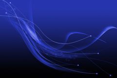 Blue abstract lines texture background Royalty Free Stock Photo