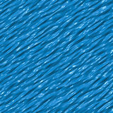 Blue abstract liquid plastic texture Stock Images