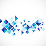 Blue abstract modern geometric for business or tech template Royalty Free Stock Photos