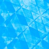 Blue Abstract Origami Paper Background - Texture vector illustration