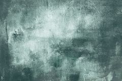 Blue grungy painting background or texture. Blue abstract painting detail background or texture royalty free stock photography