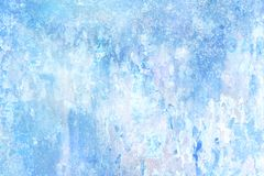 Blue abstract pastel textured background. royalty free stock image