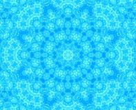Blue abstract pattern Royalty Free Stock Image
