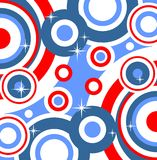 Blue abstract pattern Stock Image