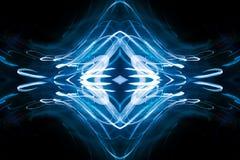 Blue abstract pattern stock illustration