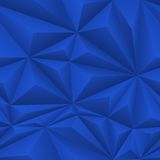 Blue Abstract Polygon Background Tile Royalty Free Stock Photos