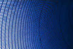 Blue abstract rectangle Royalty Free Stock Photo