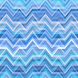 Blue Abstract Retro Vector Background Stock Photo