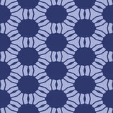 Blue abstract seamless micro sctructure mesh pattern Stock Photography