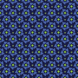 Blue abstract seamless pattern Royalty Free Stock Photography