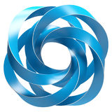 Blue Abstract Shape Stock Images