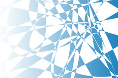 Blue abstract shapes background illustration Stock Images