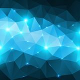 Blue abstract shining ice vector background. Royalty Free Stock Photos