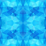 Blue abstract shining ice vector background Stock Images