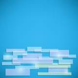 Blue Abstract Shiny Card Stock Photos