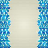 Blue Abstract Shiny Wavy Lines Background Stock Image