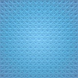 Blue Abstract Square Background - crossing lines Royalty Free Stock Images