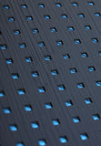 Blue abstract squares design royalty free stock photography
