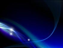 Blue abstract stylish fantasy background Royalty Free Stock Photography