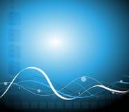 Blue abstract stylish fantasy background Royalty Free Stock Photo