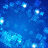 Blue Abstract Tech Background Stock Photos