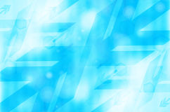 Blue abstract technology background. Abstract blue arrow tech background royalty free illustration