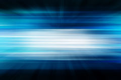 Blue abstract technology background. Empty 3D space Royalty Free Stock Images