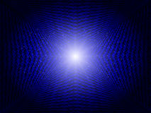 Blue Abstract Technology Background Stock Image
